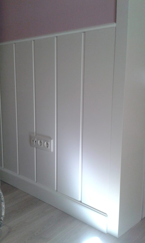 paredes forradas madera
