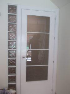 puerta de paso cristal
