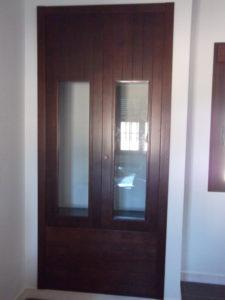 frente armario madera