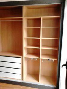 interior armario a medida sevilla