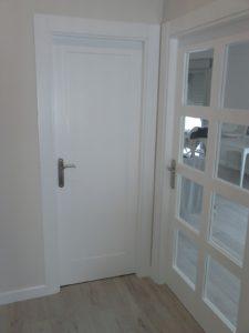 puerta paso lacada blanca