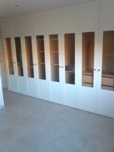 frentes armarios cristal