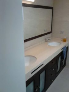 muebles lavabo doble